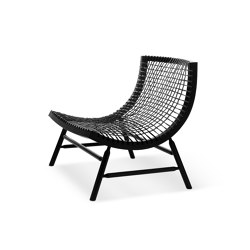 Sitar | Armchair | Black | Sillones | Saba Italia