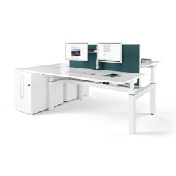 Canvaro Compact Tables | Tables collectivités | Assmann Büromöbel