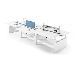 Canvaro Compact Desk | Mesas contract | Assmann Büromöbel