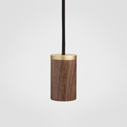Walnut Knuckle Pendant | Suspensions | Tala