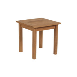 Colchester Side Table 54 Square | Side tables | Barlow Tyrie