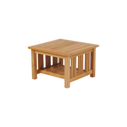 Mission Low Table 60 Square   Coffee tables   Barlow Tyrie