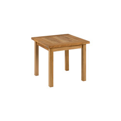 Monaco Low Table 44 Square | Side tables | Barlow Tyrie