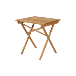 Safari Table 68 Rectangular | Side tables | Barlow Tyrie