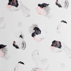 Minerals | Black-pink wallpaper | Wall coverings / wallpapers | Petite Friture