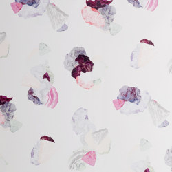 Minerals | Purple-pink wallpaper | Wall coverings / wallpapers | Petite Friture
