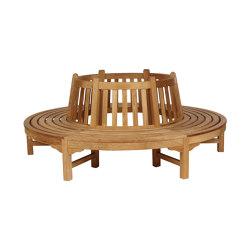 Glenham Circular Tree Seat (per half) 220 Ø Circular | Bancos | Barlow Tyrie