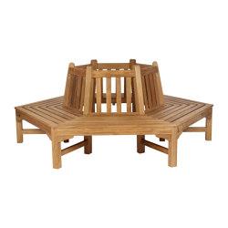 Glenham Hexagonal Tree Seat (per half) 223 | Bancos | Barlow Tyrie
