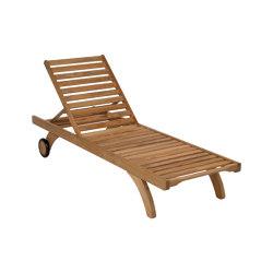 Capri Lounger - Standard | Sun loungers | Barlow Tyrie