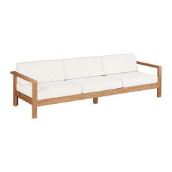 Linear Three-seater Settee DS | Sofas | Barlow Tyrie