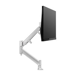 Interactive | Heavy Duty Single Display Desk Mount AWMS-HXB | Accessoires de table | Atdec
