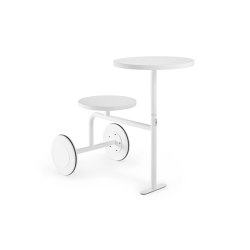 Valet white | Side tables | Les Basic