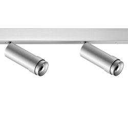 VERTICO mounted profile spotlights, 2-flame natural anodised | Plafonniers | RIBAG