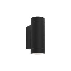 Dartmouth Twin GU10 | Textured Black | Outdoor wall lights | Astro Lighting