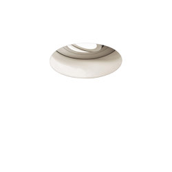 Trimless Round Adjustable Fire-Rated | Matt White | Recessed ceiling lights | Astro Lighting