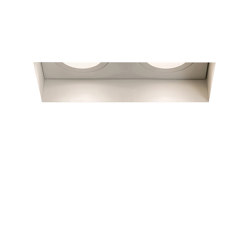 Trimless Twin Adjustable Fire-Rated | Matt White | Recessed ceiling lights | Astro Lighting