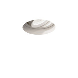 Trimless Round Adjustable LED | Textured White | Recessed ceiling lights | Astro Lighting