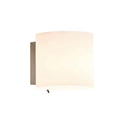 Luga | White Glass | Wall lights | Astro Lighting