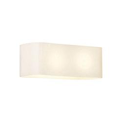 Obround   White Glass   Wall lights   Astro Lighting