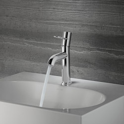 AXOR Uno Single lever basin mixer 100 loop handle without pull-rod | Wash basin taps | AXOR