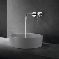 AXOR Uno Single lever basin mixer for concealed installation loop handle wall-mounted 225 | Wash basin taps | AXOR
