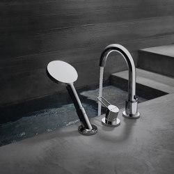 AXOR Uno 3-hole rim mounted bath mixer loop handle | Bath taps | AXOR