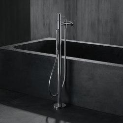 AXOR Uno Single lever bath mixer floor-standing loop handle | Bath taps | AXOR