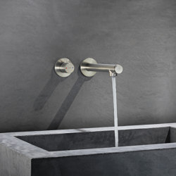 AXOR Uno Select basin mixer for concealed installation wall-mounted 220 | Wash basin taps | AXOR