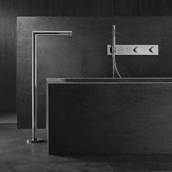 AXOR Uno Bath spout floor-standing straight | Bath taps | AXOR
