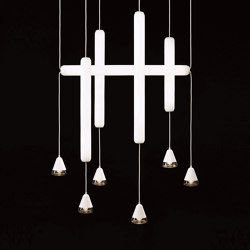Puro Single PC1013 │ PC1014 │ PC1015 │ PC1012 | Suspended lights | Brokis