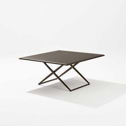 Zebra Up&Down square table | Esstische | Fast