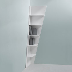 Esquina | Corner bookshelf | Regale | My home collection