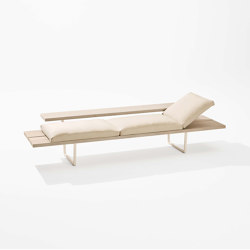 New Wood Plan Chaise longue | Sun loungers | Fast