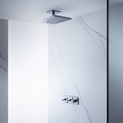 AXOR Shower Collection Overhead shower 460 / 300 2jet with ceiling connector | Shower controls | AXOR