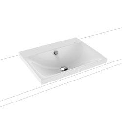 Silenio built-in washbasin alpine white | Wash basins | Kaldewei