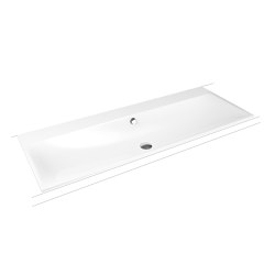 Silenio built-in double washbasin alpine white | Wash basins | Kaldewei