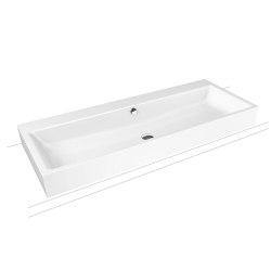 Puro countertop double washbasin alpine white | Wash basins | Kaldewei