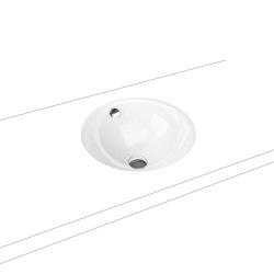 Classic undercounter washbasin alpine white | Wash basins | Kaldewei