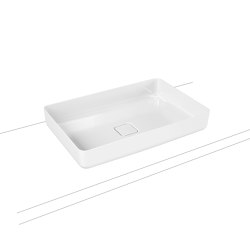 Miena washbowl alpine white (rectangular) | Lavabos | Kaldewei