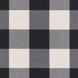 Alpha-Check 2.0 - 345 nero | Drapery fabrics | nya nordiska