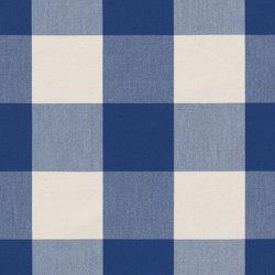 Alpha-Check 2.0 - 349 marine | Drapery fabrics | nya nordiska