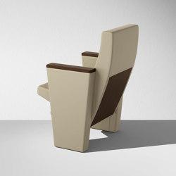 C900 con schienale basso | Auditorium seating | Lamm
