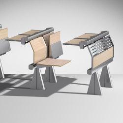 Runner Upholstered version | Auditorium seating | Lamm