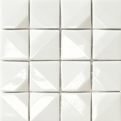 Crono Nova | Bianco | Glass mosaics | Mosaico+