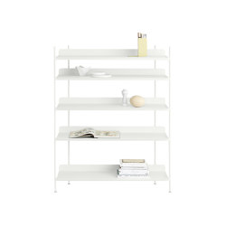 Compile Shelving System | Configuration 3 | Shelving | Muuto