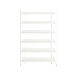 Compile Shelving System | Configuration 4 | Shelving | Muuto