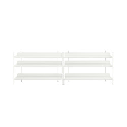Compile Shelving System | Configuration 6 | Shelving | Muuto