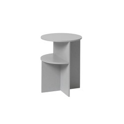 Halves Side Table | Mesas auxiliares | Muuto