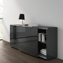 Site sideboard with sliding doors | Sideboards | RENZ