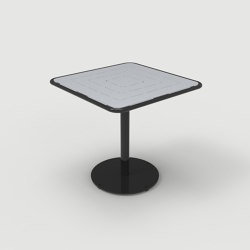 FRT1700-SQ-M2-SM-30 Square Table | Bistro tables | Maglin Site Furniture